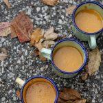 מרק כתום אסייתי עם חלב קוקוס בניחוח פירות הדר