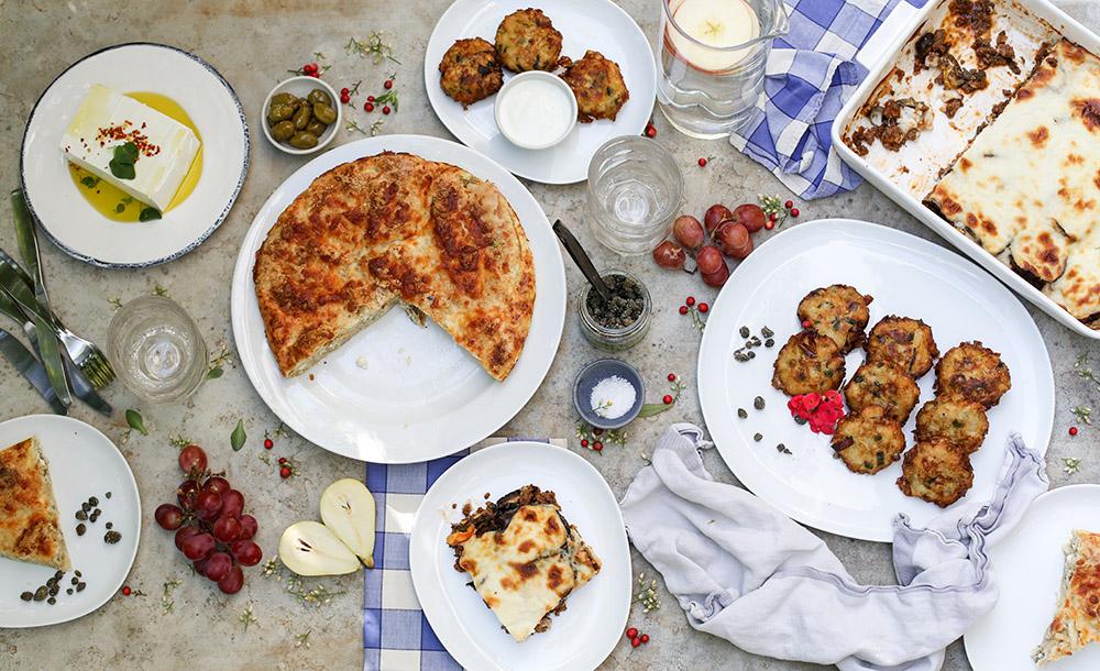 איך לתכנן ולהפיק ארוחה יוונית מושלמת