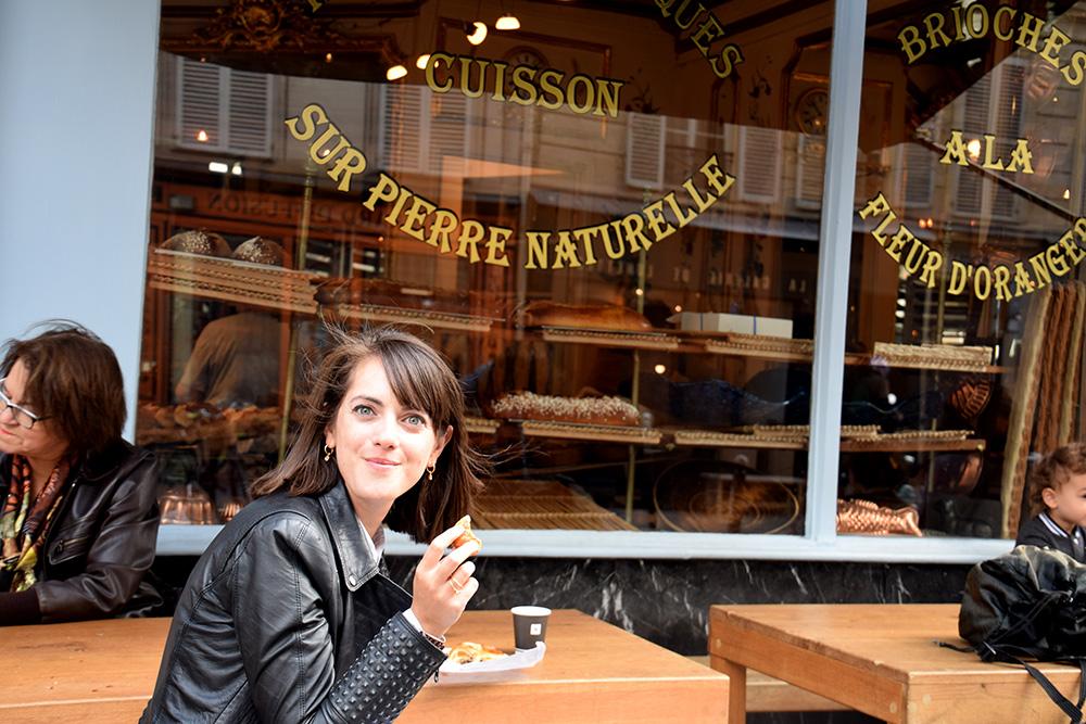 ריח של לחם וחמאה חומה - מחשבות על פריז