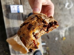 scone שוקולד ואגוזים מלחם בורקין
