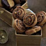 עוגיות שוקולד קוקוס בצורת שבלולים של סבתא חוה