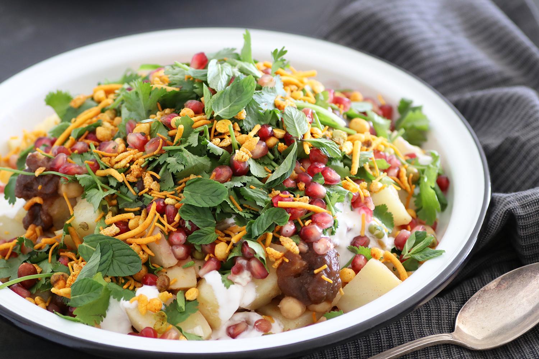 אלו צ'אט - סלט תפוחי אדמה הודי. צילום: נטלי לוין