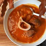 מרק שעועית ובשר עם ניחוחות של חמין וחורף