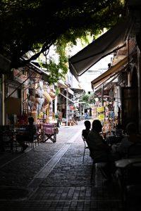 הקסם של הרחובות הקטנים. שוק מודיאנו בסלוניקי (צילום: אהובה שורצברד)
